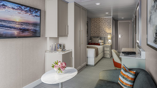 Another major cruise line adds solo cabins for the first time — and they have balconies