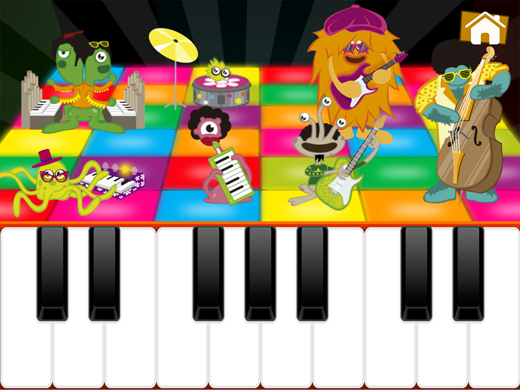 Kids Piano Melodies- screenshot