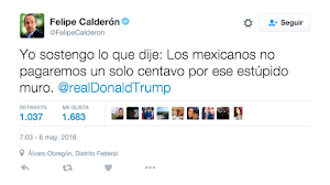 Calderon twet