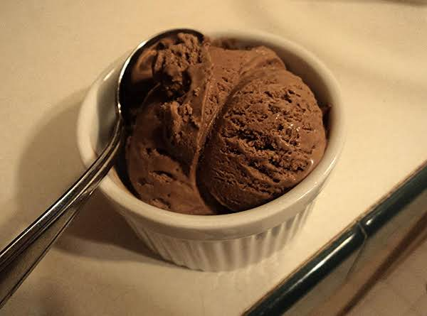 Really Easy Chocolate Ice Cream Recipe