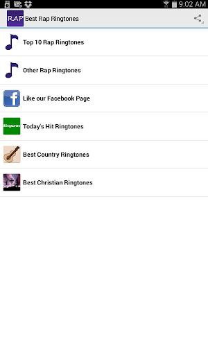 Best Rap Ringtones Screenshot