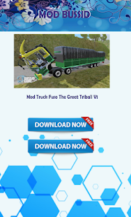 Mod Truck Fuso BUSSID Indonesia - náhled