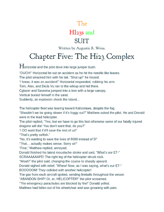 Chapter Five - The Hi23 Complex