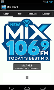 Mix 106.9- screenshot thumbnail