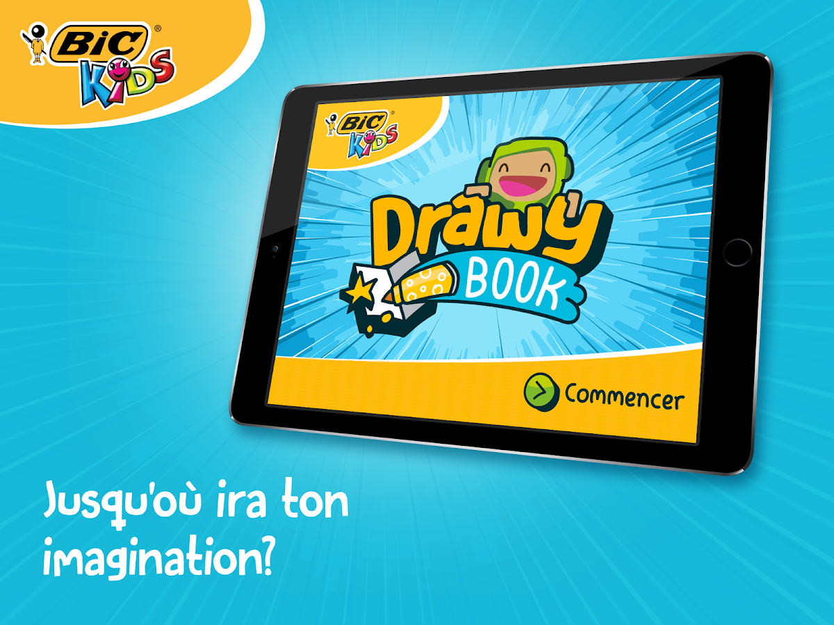 BIC Kids DrawyBook, coloriages – Capture d'écran