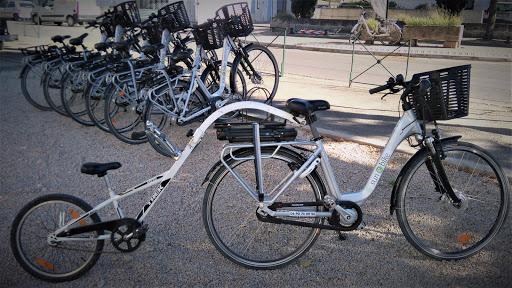 location de vélo à l'Esclériade chambres d'hôtes à Vaison la Romaine