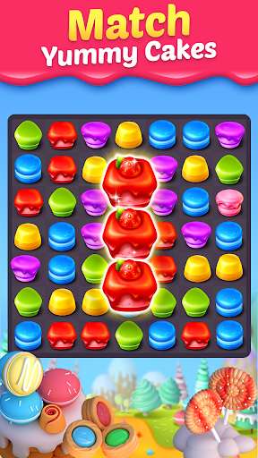 Cake Smash Mania - Swap and Match 3 Puzzle Game screenshots 1
