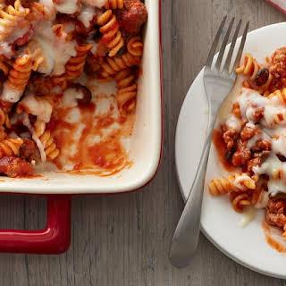 Make-Ahead Pizza Casserole.