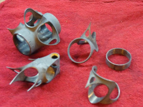 Photo: Lugs, cleaned and ready to braze.