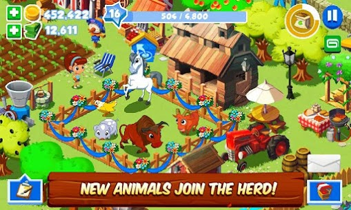 Green Farm 3 MOD APK (Unlimited Money) 5