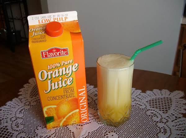 Orange Julius Knock-off!!! Recipe
