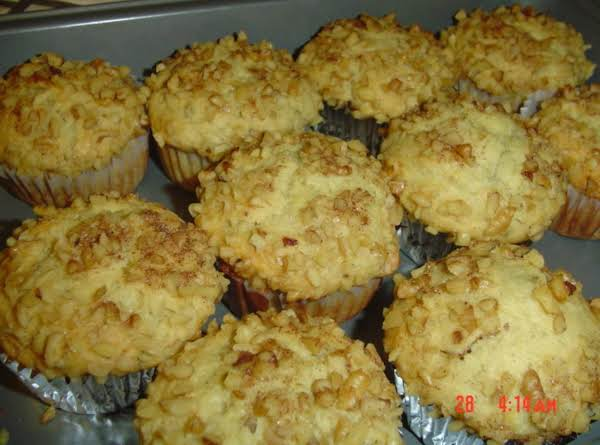 The Whole Pan Of The Best Banana Nut Muffins I Have Ever Made! These Never Ever Stay Around And Many That Try The Recipe Wonder Why They Are So Light! Buttermilk!