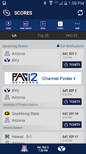 Arizona Wildcats Gameday- screenshot thumbnail