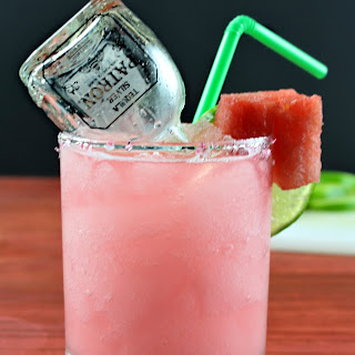 Watermelon Margaritas.