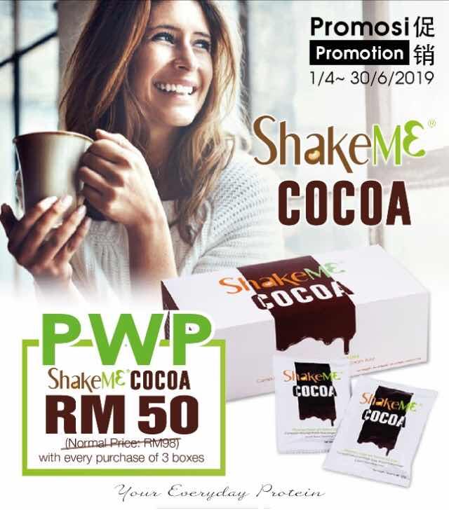 kelebihan shake me cocoa