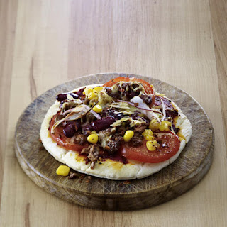 Easy Tex Mex Pizzas