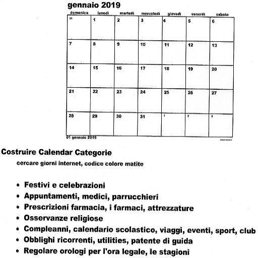 Calendario 2019 2020.Stampa Del Calendario Soto 2018 2019 2020 2021 22