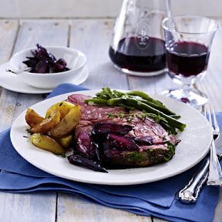 Sirloin Steak a la Bordelaise.