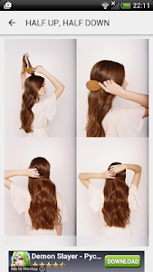 Hairstyles step by step screenshot 7