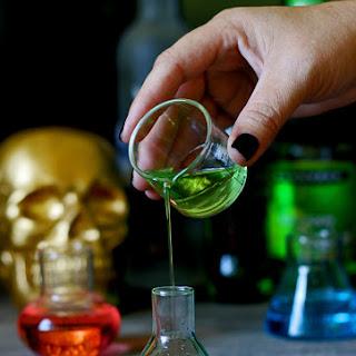 Stumbling Scientist Halloween Cocktail.
