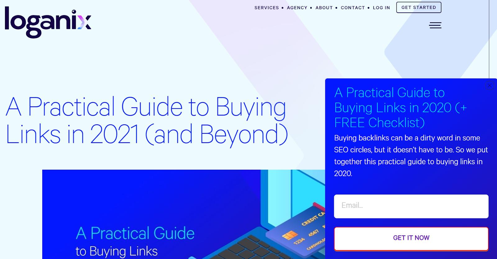 loganix practical guide to buying links 2021
