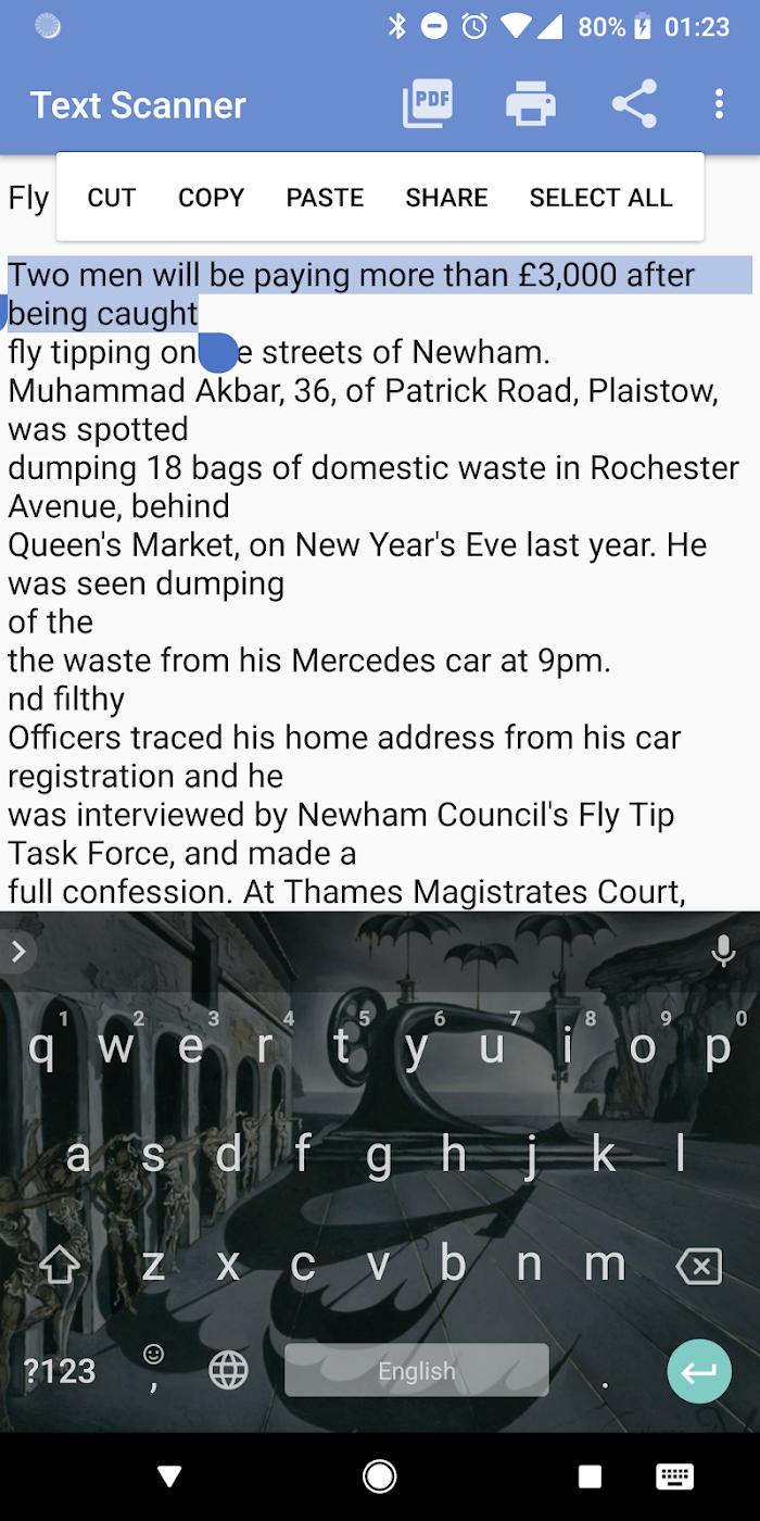 Text Scanner (offline OCR) v2019 For Android APK Download