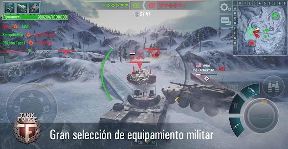 Tank Force: Juego de tanques en 3D 1