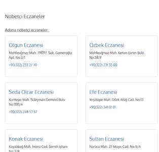 Nöbetçi Eczaneler screenshot 2