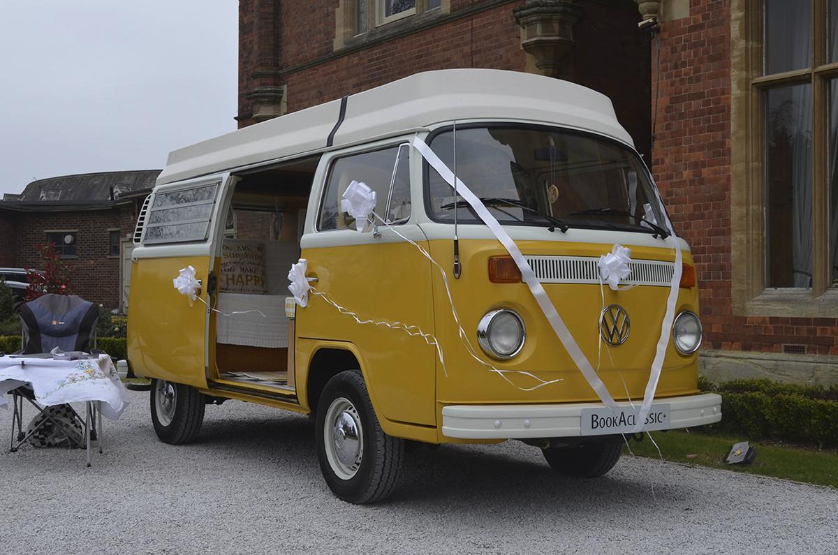 Volkswagen T2 Bay Window Camper Riviera Hire Sheffield