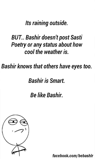 Like Basheer