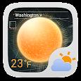 Futuristic Theme GO Weather EX icon