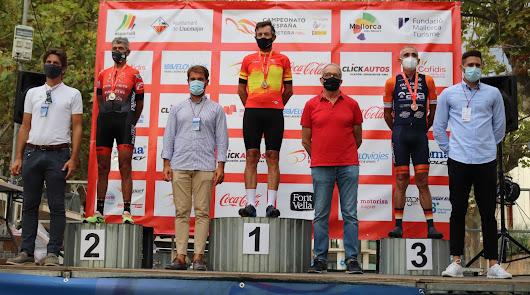 El ciclista roquetero Juan Moreno Gallardo es de oro
