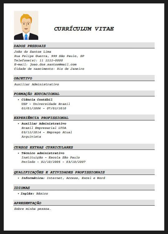 resume free screenshot