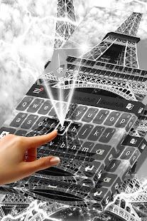 Eiffel Tower Keyboard - náhled