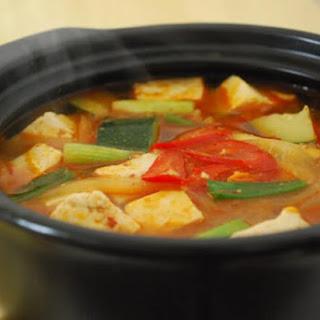 Doenjang Jjigae (Korean Soybean Paste Stew).