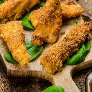 Crunchy Buttermilk Chicken Fingers.