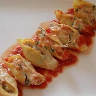 Vegetable Stuffed Shells Pasta