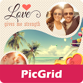 Love Collage for PicGrid