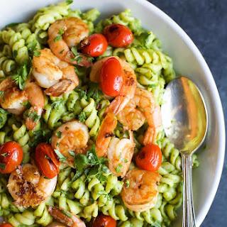 Shrimp Avocado Tomato Pasta Recipes