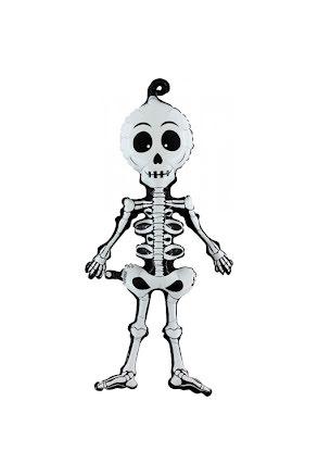 Folieballong, skelett 74cm
