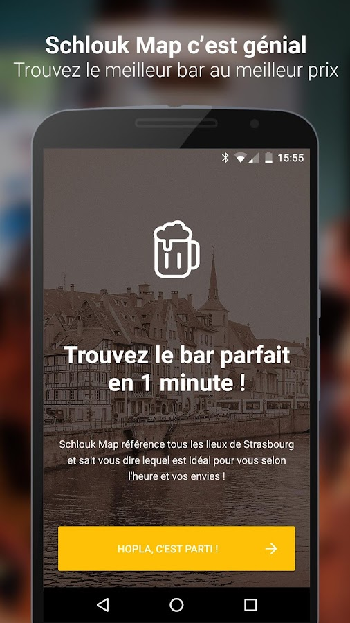 Schlouk Map - La Carte des Bars et des Happy Hours – Capture d'écran