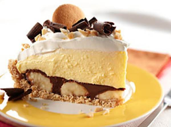 Peanut-butter Chocolate Banana Cream Pie
