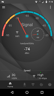 Signal Strength Screenshot