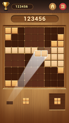 Wood Block Sudoku Game -Classic Free Brain Puzzle apktreat screenshots 1