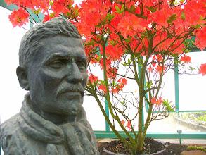 Photo: ritratto del giardiniere fatto dalla regina