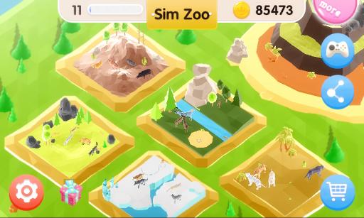 Sim Zoo - Wonder Animal 1.1.0 screenshots 1