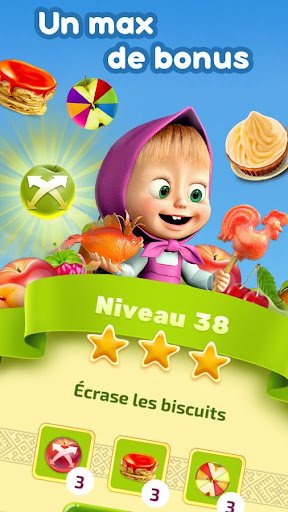 Masha et Michka: Jam Day - cartoons games for kids  captures d'écran 3