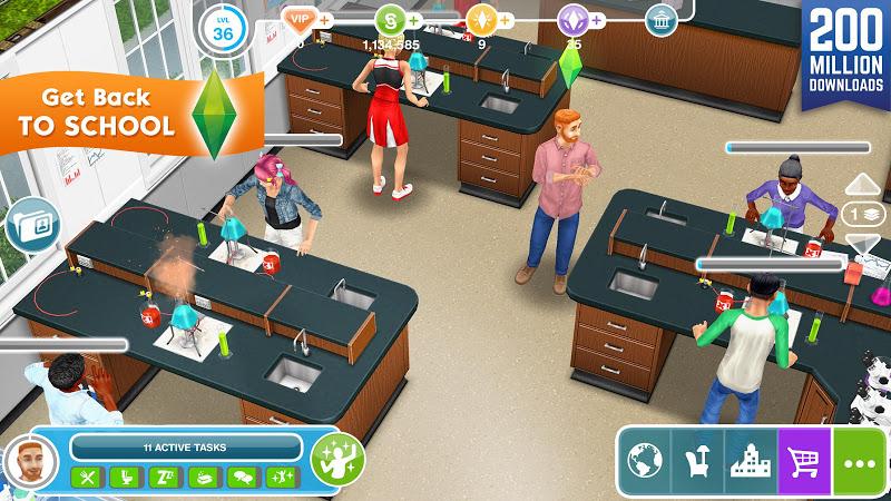 The Sims FreePlay v5.33.3 (Mod Money/AdFree)