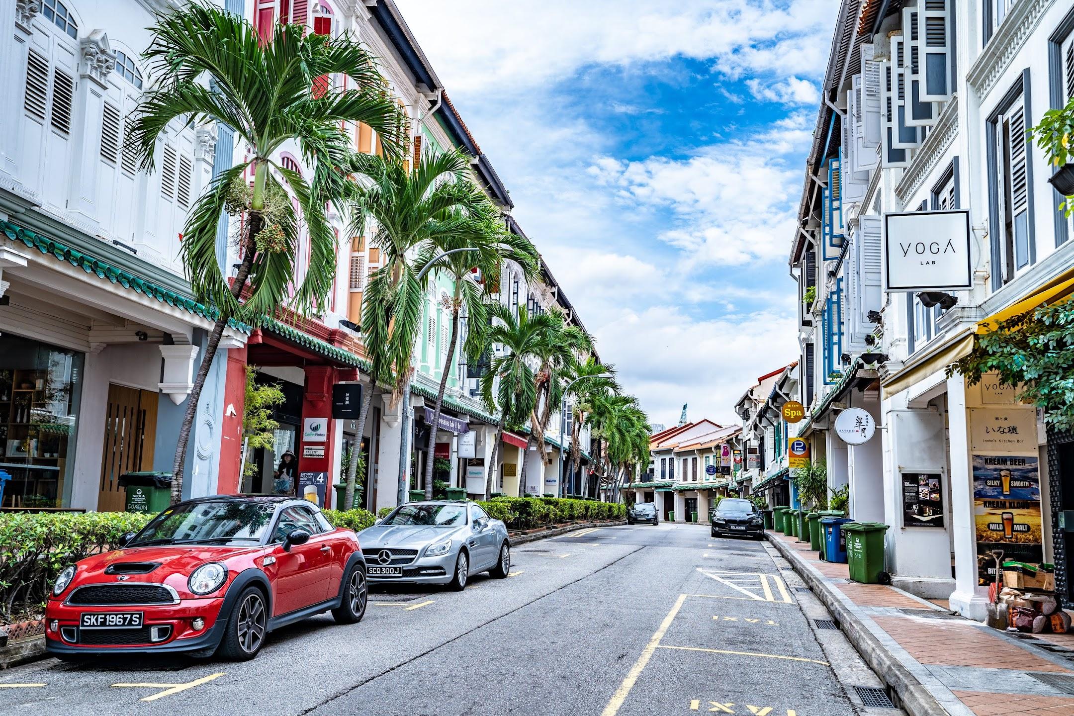 Singapore shop house2