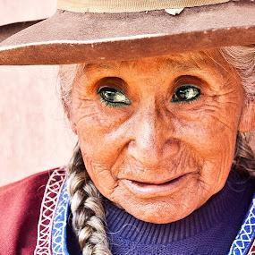 Faces of Peru by Dmitry Samsonov - People Portraits of Women
